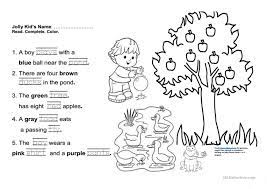 Start studying jolly phonics reading. Jolly Phonics Book 3 Fun Final Test English Esl Worksheets For Distance Learning And Physical Classrooms