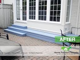 free deck fence staining painting cost estimate