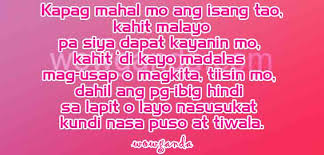 Tagalog Love Quotes Unique Kapag48 Motivational And Inspirational Quotes Wowganda