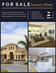 how to create real estate flyers canva boomtown florida house canva