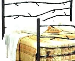 Wrought Iron Bed Frame Ikea Canada Canopy Queen Winning Headboard ...