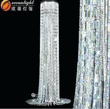 floor standing chandelier lamp idea of customer size crystal chandelier floor standing chandelier floor that free standing chandelier lamp