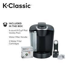 keurig k55 coffee maker. Keurig K55/K-Classic Coffee Maker, K-Cup Pod, Single Serve, Programmable, Black K55 Maker
