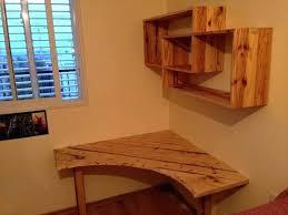 diy corner desk captivating built in corner desk ideas pallet desk with art style shelves diy diy corner desk