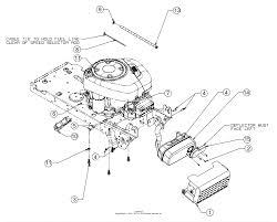 Mtd 13wn77ss231 lt4200 2017 parts diagram for engine accessories rh jackssmallengines cub cadet ltx 1042 deck diagram cub cadet belt diagram