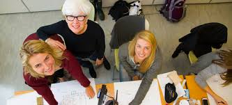 Student looking into the camera. As mandated by the Council for Interior  Design Accreditation(CIDA), Algonquin College ...
