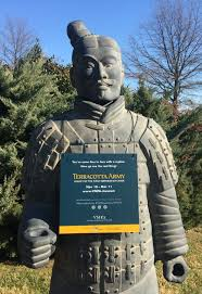 terracotta statue replica