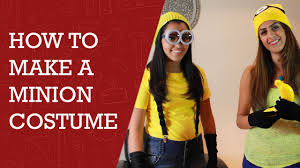 how to make minion costume easy way to make minion costume minion costume you