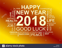 Happy New Year Word Cloud Stock Photos Happy New Year Word Cloud