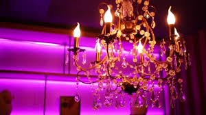 beautiful chandelier light bulbs glass candles hanging transpa stones stock