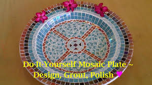 Simple Mosaic Art Designs Diy Mosaic Craft Tutorial How To Design Grout Finish Your Mosaic