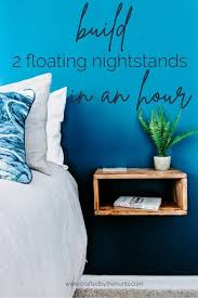 Build <b>2</b> DIY <b>Floating Nightstands</b> in Less Than an Hour | Floating ...