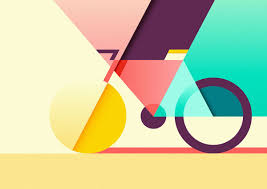 Graphic Design Shapes Graphic And Colorful Illustrations By Ray Oranges Graphic
