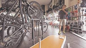 Cycle Display Stand Thieves target bike stores News100 91