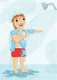 take a shower clipart. Modren Take Shower Clipart Bathing  Pencil Inside Take A Clipart