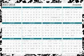Year At A Glance Calendars At A Glance Madrid 2 Sided Academic Regular Year Erasable