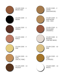 Timbermate Color Chart Colored Timbermate Wood Filler For Gouges In Restored