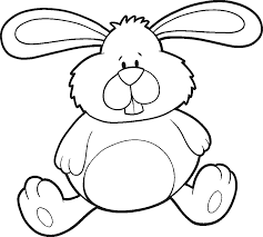 Small Picture Beautiful Easter Bunny Coloring Page 17 On Line Drawings with