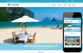Travel Templates Turistik A Travel Guide Flat Bootstrap Responsive Web Template By