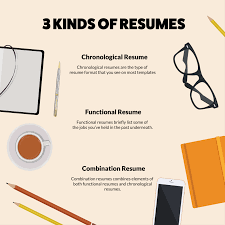 resume format types samples and templates  kinds of resumes
