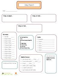 Free Daily Schedule Templates For Excel Nanny Activity Log Template