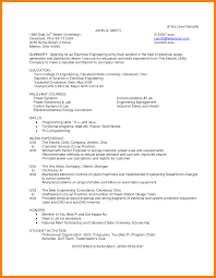 Resume Achieved Resume Cover Letter For Engineering Sample