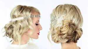 Gatsby Hair Style 2 Gorgeous Gatsby Inspired Hairstyles Youtube 4546 by stevesalt.us