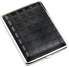 <b>Портсигар черный с рисунком</b> S.QUIRE AB02-BSQU в подарок ...