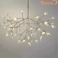 inspirational tree branch chandelier lighting or white tree branches chandeliers modern suspension hanging light throughout tree