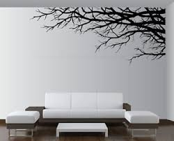 Image is loading Vinyl-Wall-Art-Decor-Tree-Top-Branches-Sticker-