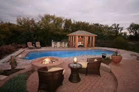 beautiful backyard pools. Simple Beautiful In Ground Fiberglass Pool Signature Pools Chicago Beautiful Backyard
