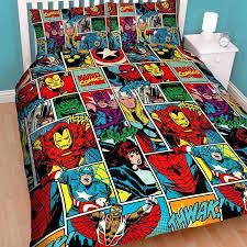 comic book duvet covers comic book double duvet covers marvel comics avengers strike duvet set expand