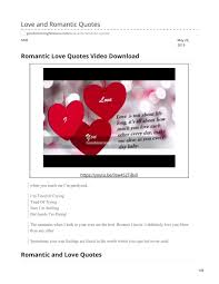 Love And Romantic Quotes By Answermeangel99 Issuu
