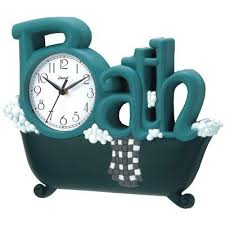 Wonderful See To It That The Bathroom Clocks Are Placed And Positioned In  Areas Which Are
