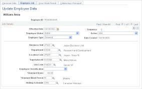 Creating Employee Data