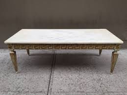 Italian Coffee Tables Marble Antique Italian Neoclassical Style Marble Top Coffee Table For