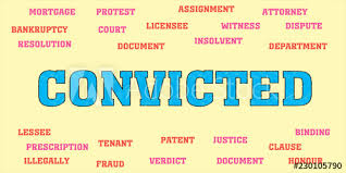 Image result for convicted of words