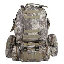 Military Multifunction Molle Camouflage Hiking Camping Tactical Backpack