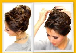 Layered Braids Hairstyles Updo Hairstyles For Layered Hair Women Medium Haircut