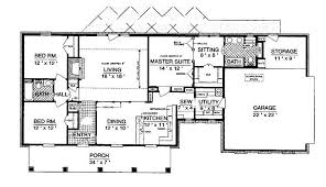 1600 square foot ranch house plans best of pretentious design