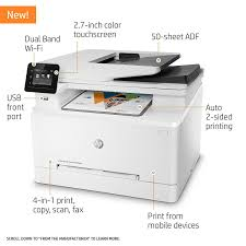 Amazon Com Hp Laserjet Pro M281fdw All In One Wireless Color How To Make A Printer Print In Color L