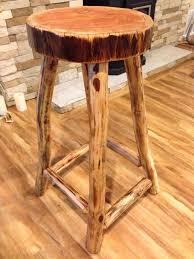 image creative rustic furniture. rustic log wood stool furniture image creative