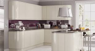 fitted kitchens ideas. Fitted Kitchens Contemporary Trend Handleless Ivory Gloss Ideas E