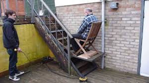 exterior stair chair lift. Brilliant Lift Image Of Stair Chair Lift Outdoor On Exterior
