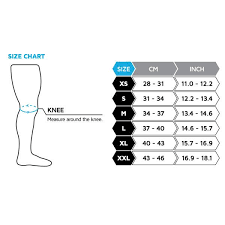 Nike Knee Pads Size Chart Basketball Knee Pads