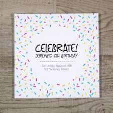 Print Birthday Invitation Birthday Invitation Printing