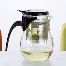 china samadoyo heat resistant clear glass teapot with infuser from manufacturer in china