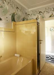 1940 Bathroom Design New Sunflower Yellow Vintage Bath