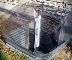 basement window well covers. Clear Bubble Window Well Cover Crs Waterproofing Aurora Il Basement Covers