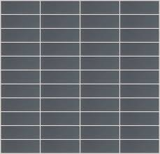 12 x12 frosted gray mirror glass tile